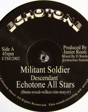 ETM12002 - Militant Soldier - Descendant - Echotone Music 12