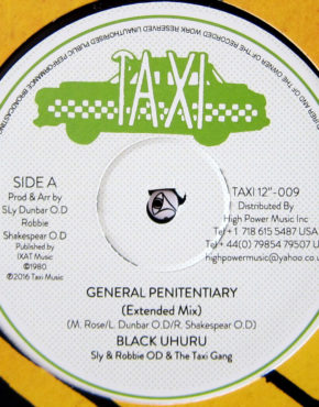 TAXI12009 - General Penitentiary - Black Uhuru - Taxi 12
