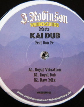 WHODEM023 - Royal Vibration - Whodemsound Meets Kai Dub Ft Don Fe - Whodemsound 12