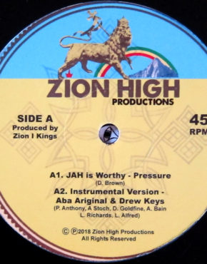 ZHPV003 - Jah Is Worthy - Pressure - Zion High Productions 12