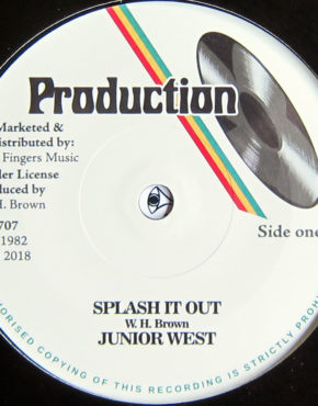 JFR707 - Splash It Out - Junior West - Production 7 (Jah Fingers)