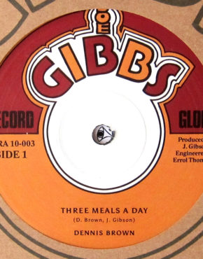 JGRA10003 - Three Meals A Day - Dennis Brown - Joe Gibbs 10