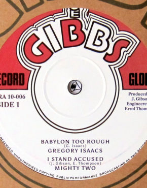 JGRA10006 - Babylon Too Rough - Gregory Isaacs - Joe Gibbs 10