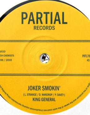 PRTL7059 - Joker Smokin' - King General - Partial Records 7