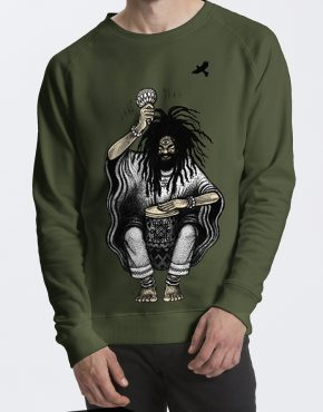 Drum_Green_sweater