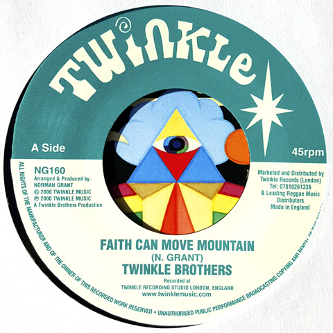 Faith can move mountain - Twinkle Brothers - Twinkle 7
